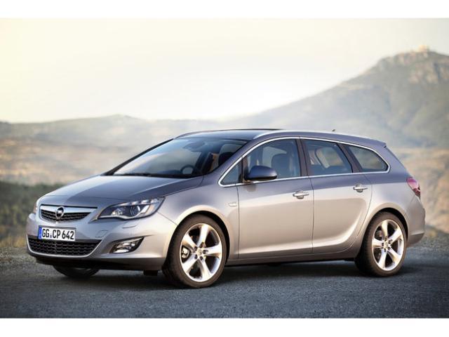 Opel Astra 1,4 turbo 103kw